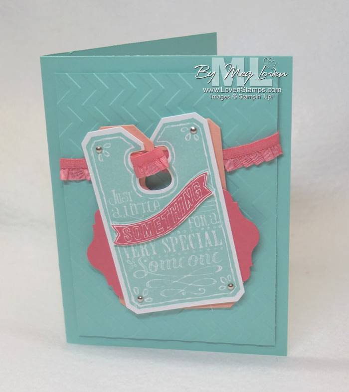 Chalk Talk stamp set and framelits: Something Special Banner