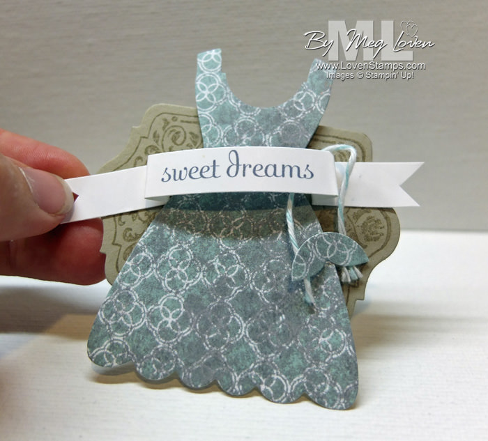 Dress Up Framelits: sleepover fun embellishment for a This & That Journal