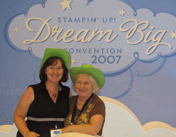 My mom & me at Convention 6 years ago