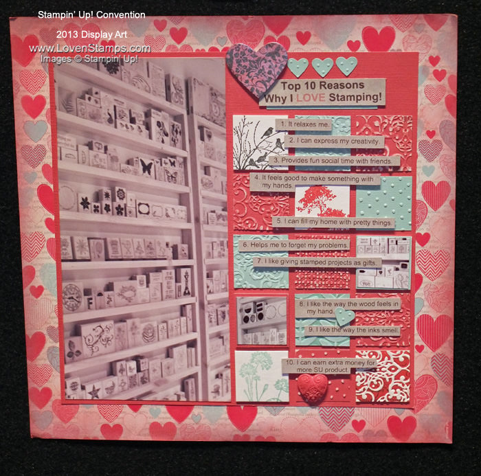 Scrapbooking Template: 10-reasons-why-I-love-stamping-page