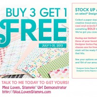 Buy 3, Get 1 FREE! Time to stock up on DSP!