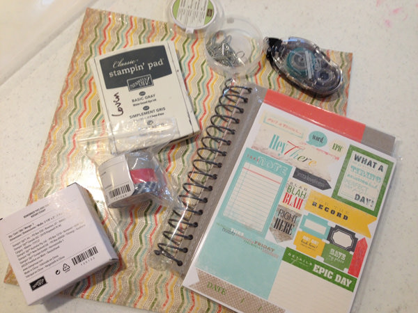 This & That Kit for a trip - scrapbook it WHILE you're on vacation so you don't forget anything!