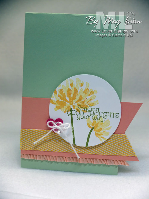 Too Kind banner card by LovenStamps for the Stamps in the Mail Club