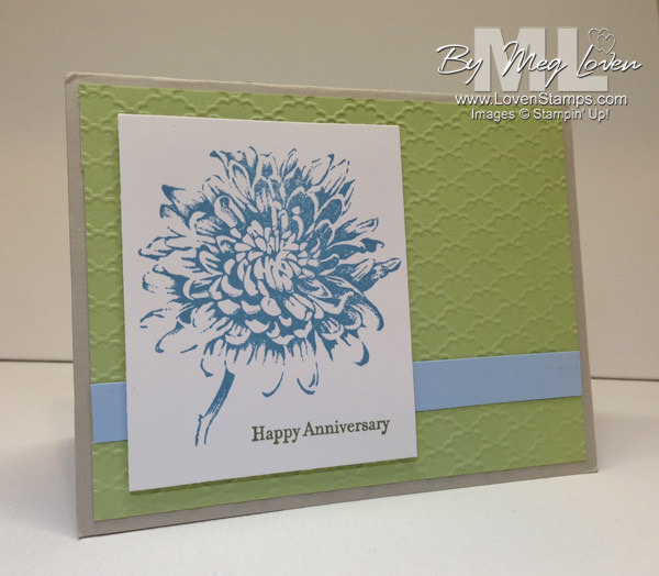 Blooming with Kindness Anniversary Card: LovenStamps