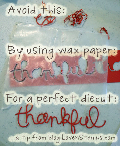 Expressions Thinlits Dies: how to tips from LovenStamps
