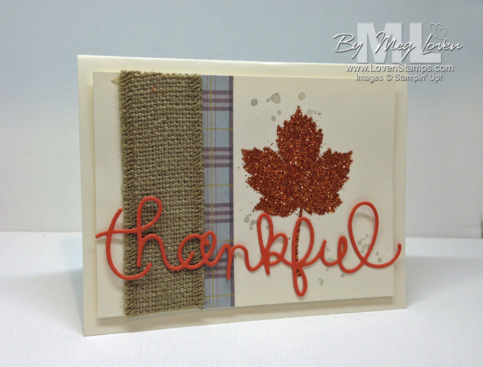 Magnificent Maple and Expressions Thinlits from the Holiday Catalog - tips from LovenStamps