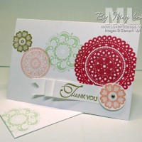 Lacy & Lovely: Clean and Simple Stamping Ideas