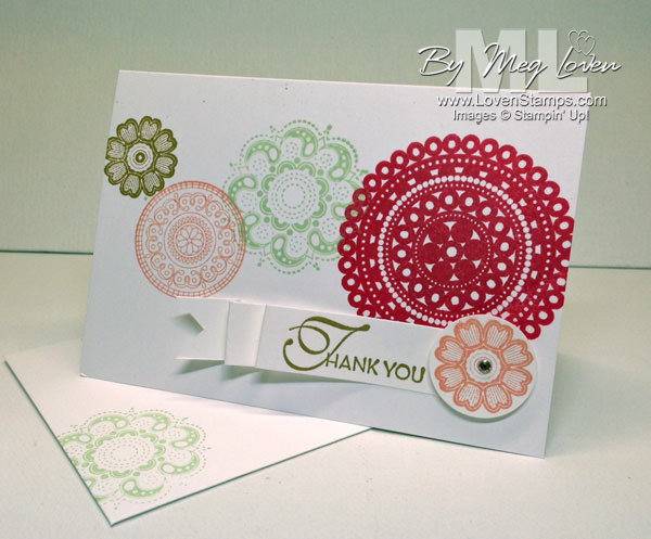 Lacy & Lovely: perfect for clean and simple DIY cards; stamping by LovenStamps