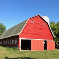 Paint Sprayers, Tractors and Old Barns