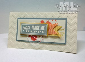 Hello Lovely stamp set - CASE of card shared at Convention - LovenStamps