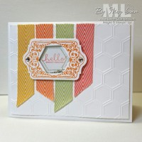Hexagon Punch Shaker Cards: Chalk Talk Banners