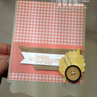 Fall Pop N Cuts Birthday Card – Thankful Tablescape Kit