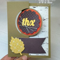 You'll Flip for This Circle Card Thinlits Project