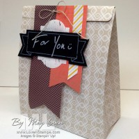 Thankful Tablescape Gift Bag: think out of the box! (or bag)