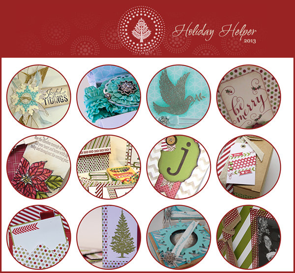 12 Days of Holiday Helper Emails - free ideas to your inbox, from LovenStamps