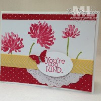 Too Kind: 2-Step Stamping Video Tutorial