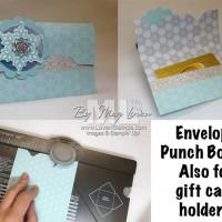Easy Gift Card Holders: Envelope Punch Board Alert!!