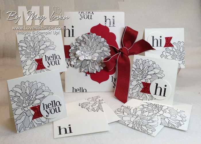 Note Cards with matching Envelope Portfolio: instant gift idea for teachers, neighbors or friends. From LovenStamps