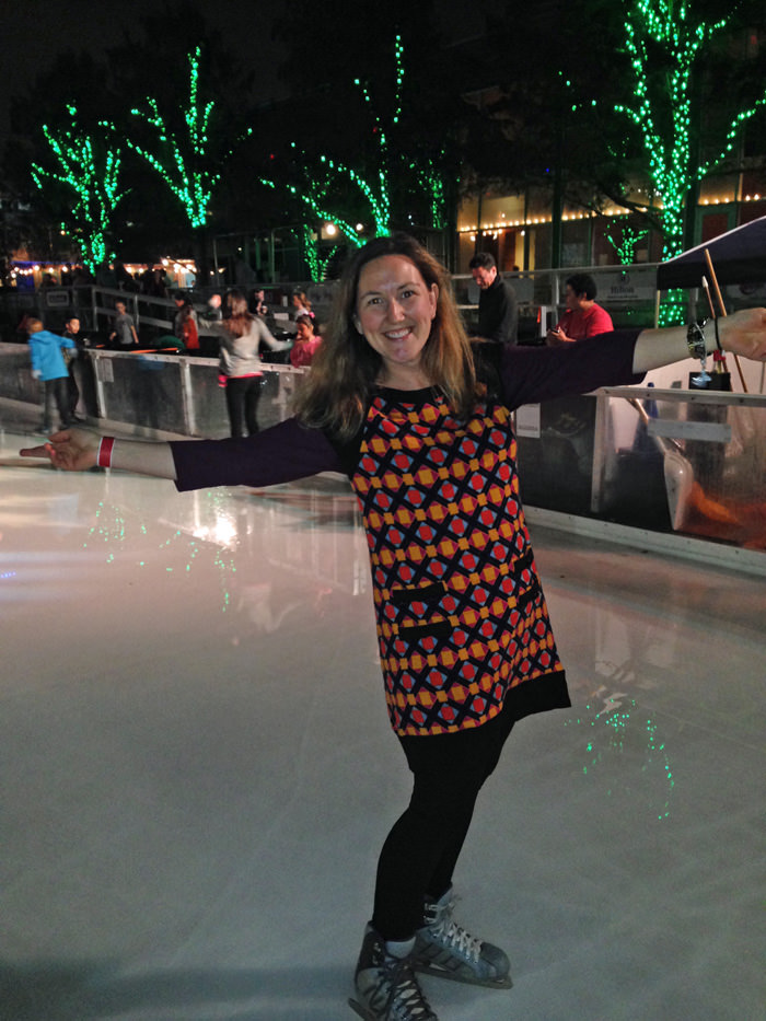 ice skating downtown Houston #leadership2014