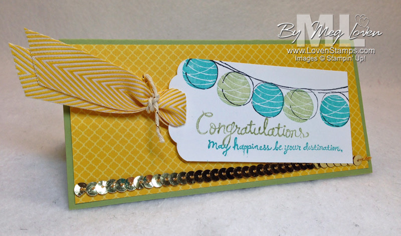 Happy Congratulations Tag Card - from LovenStamps