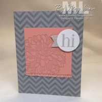 Elements of the Perfect Stamp Set: Regarding Dahlias