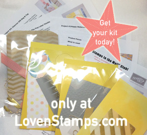 Get your Stamps in the Mail Club Kit - LovenStamps.com