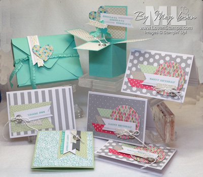 Wedding Gift Card Box Tutorial : Stamps in the Mail Club with Meg: March 2014 Kit - Happenings and Says ...