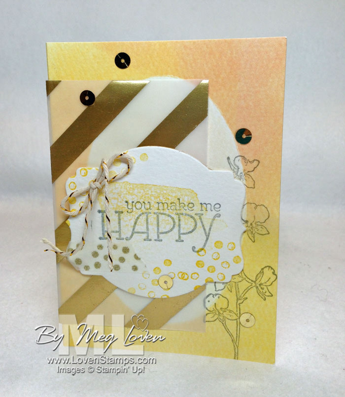 Happy Watercolor: Stamps in the Mail Club kit for February 2014 from LovenStamps