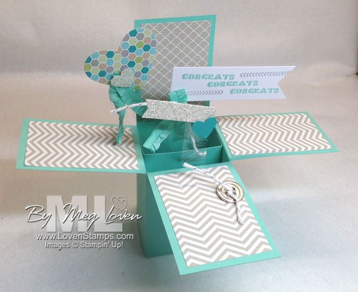 Pop-Up Box Card Made Easy: Video Tutorial by LovenStamps