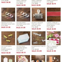 Clearance Rack Updates! Holiday Catalog Items Galore!