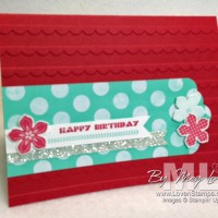 Clean & Simple: Scallop Tag Topper Card