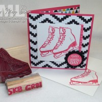 SK8 GR8! Make Your Own Sports Stamps