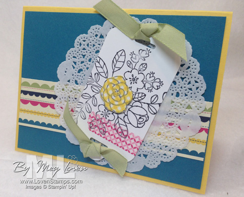 Coloring with Washi Tape: Technique Tuesday Video Tutorial from LovenStamps