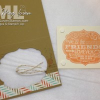 Stampin' Up! Cruise Swap: We'll Be Friends Forever