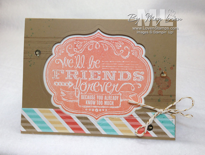 Friends Who Know: Stampin Up Cruise Swap card by LovenStamps