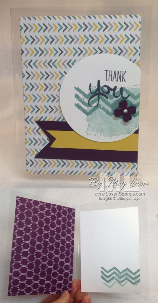 WOW Card Ideas: Use a Window Sheet as your card base! Card idea with the new Work of Art stamp set, by LovenStamps