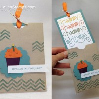 """Triple the Happy"" Birthday Card: Perfect Pockets"