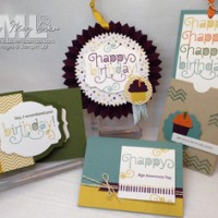 Age Awareness: Stamps in the Mail Club kit projects by LovenStamps