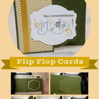 3 Easy Steps: Flip Flop Cards with your Big Shot