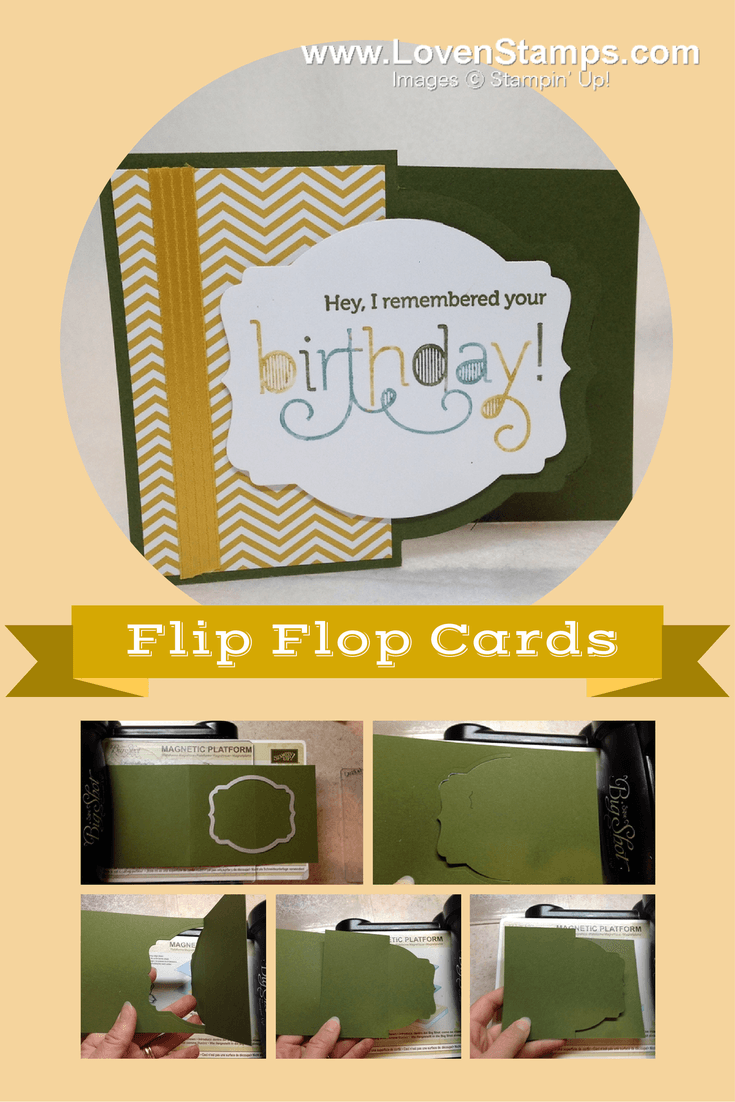 Easy Deco Label Framelit Flip Cards: A Simple Video Tutorial by LovenStamps