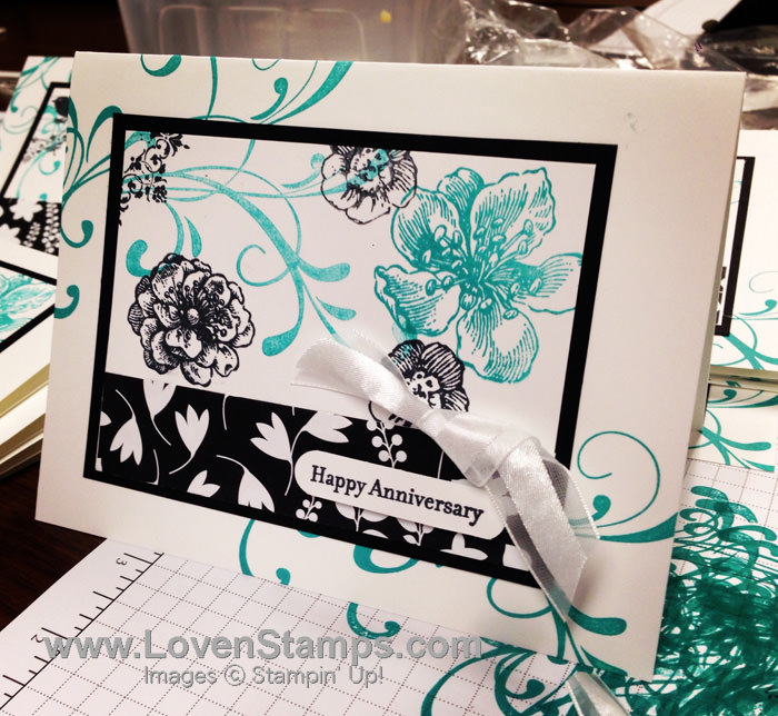 Everthing Eleanor: Annivesary Card idea for card ministry by LovenStamps
