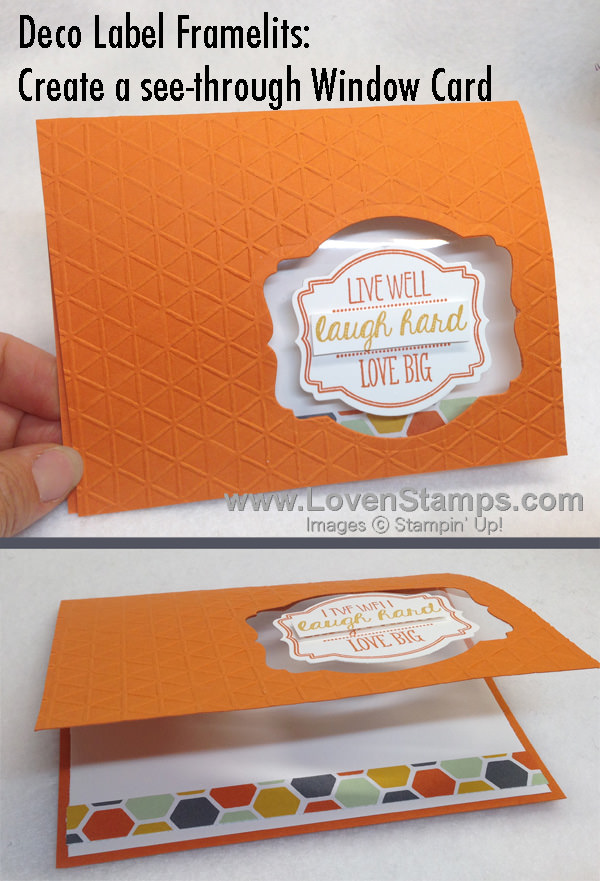 Reason #341 to LOVE the Deco Label Framelits and the Oh My Goodies stamp set from Stampin' Up! (from LovenStamps)