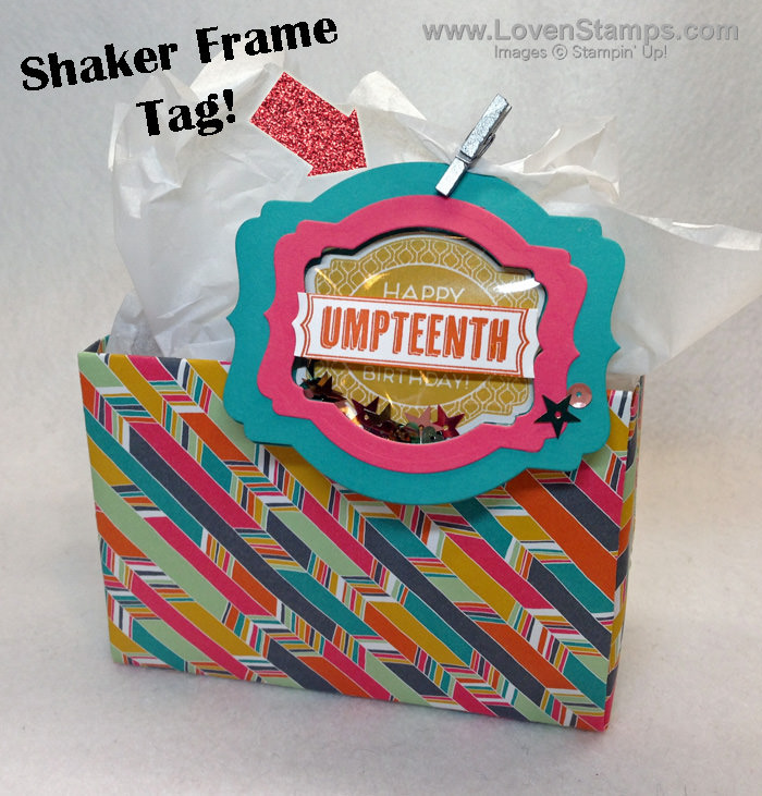 Save Your Rubber Scraps! Upcycle and create fun shaker cards or birthday tags - by LovenStamps (An Exclusive Stamps in the Mail Club Project)