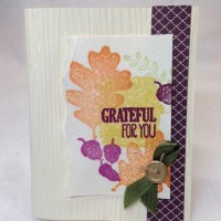 Stampin Techniques 201: Faux Watercolor