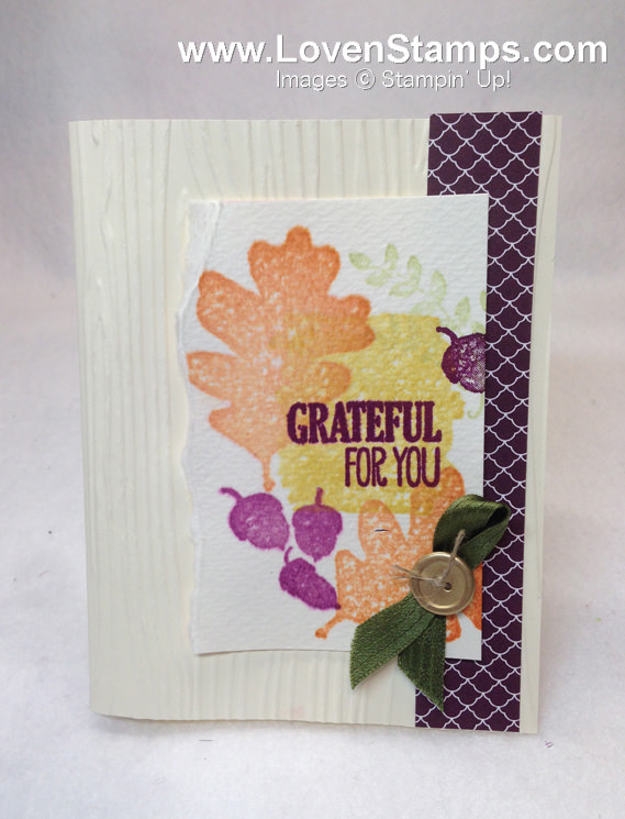 For All Things Faux Watercolor by LovenStamps with Video Tutorial