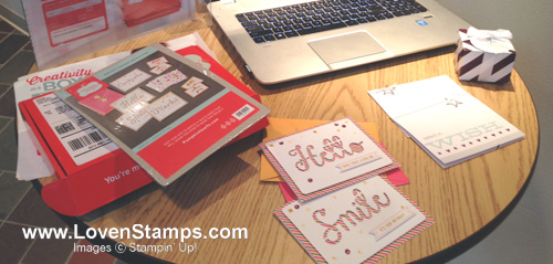 My Paper Pumpkin Kits from July & August - LovenStamps