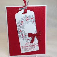 Christmas Card Layout #276: Bookmark Cards