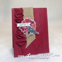 Blendabilities Markers 103: Flowers and Highlighted Embossing