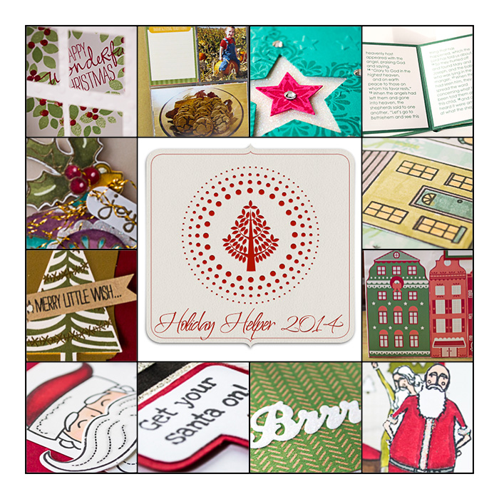 Get your FREE Holiday Helper Tutorial from LovenStamps - 12 projects for making it merry this season