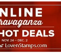Online Extravaganza – Stampin' Deals from Nov 24 – Dec 2